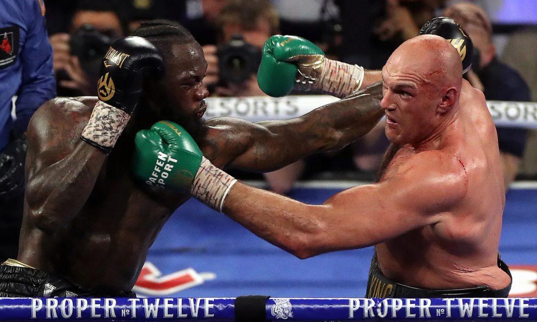 Fury menutup pertandingan ulang Wilder sebelum pertarungan Joshua