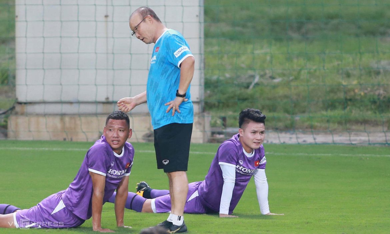 Pelatih Park ingin bermain terlebih dahulu di Indonesia dan Malaysia?