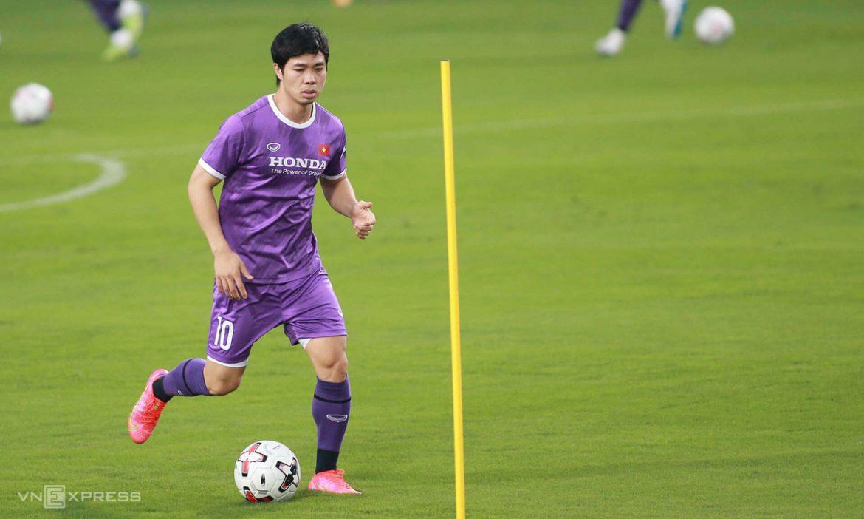 Mengapa Cong Phuong kesulitan mendapatkan tendangan utama di kualifikasi Piala Dunia?