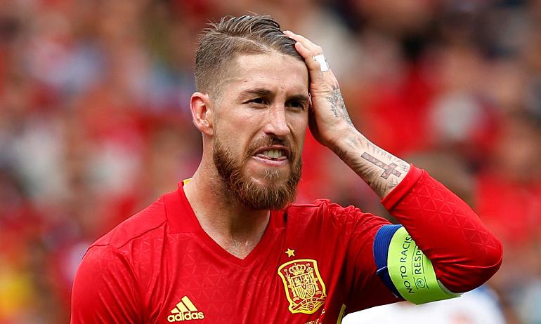 Ramos terluka karena tidak bisa menghadiri Euro