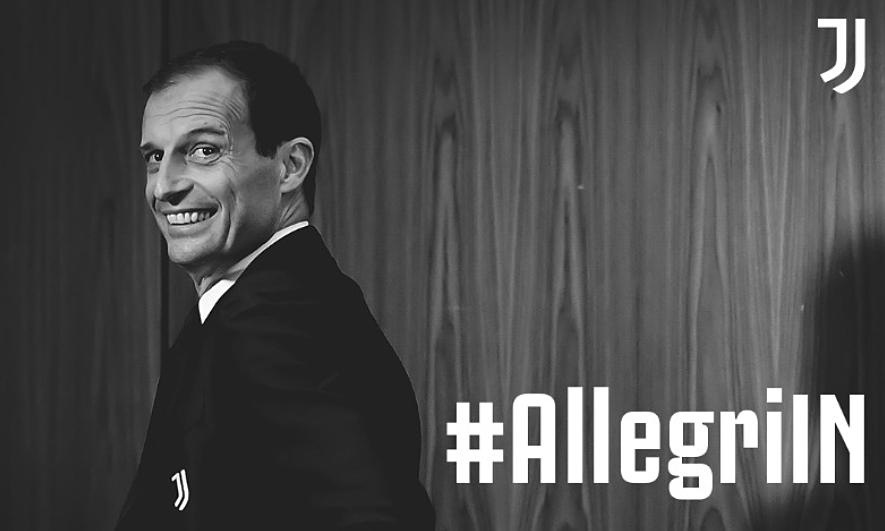 Juventus menunjuk pelatih Allegri