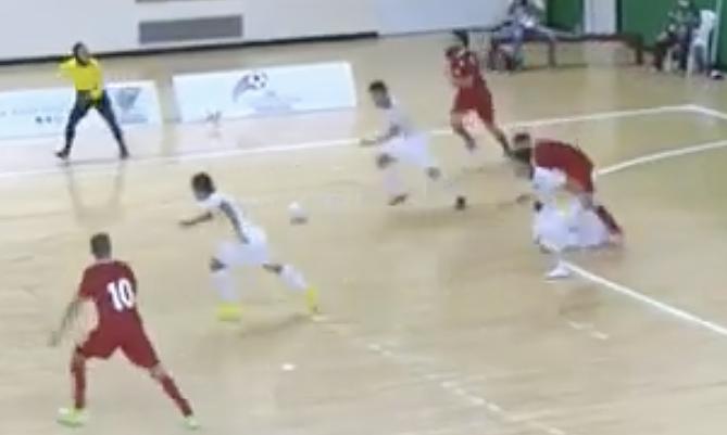 LiveVietnam memenangkan tempat terakhir untuk menghadiri Piala Dunia futsal
