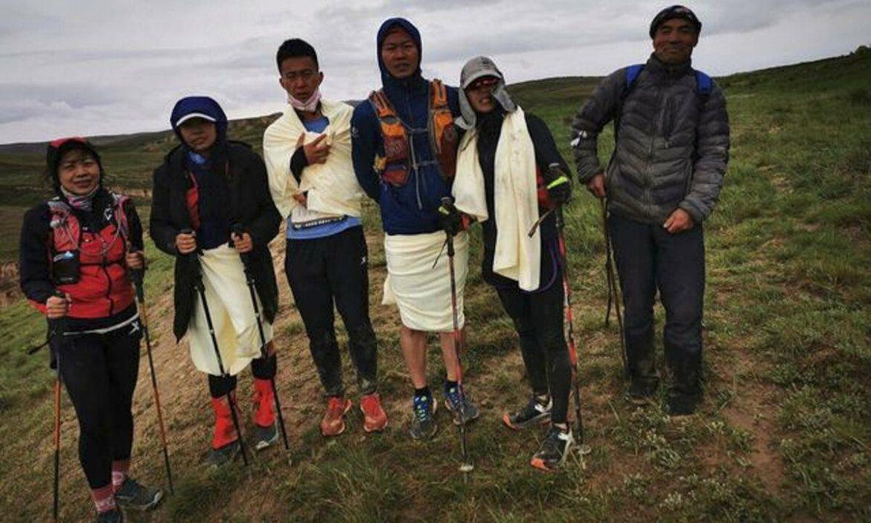 Atlet jejak ultra lolos dari kematian: 'Saya berhutang hidup saya kepada gembala'