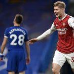 Arsenal menang di Chelsea