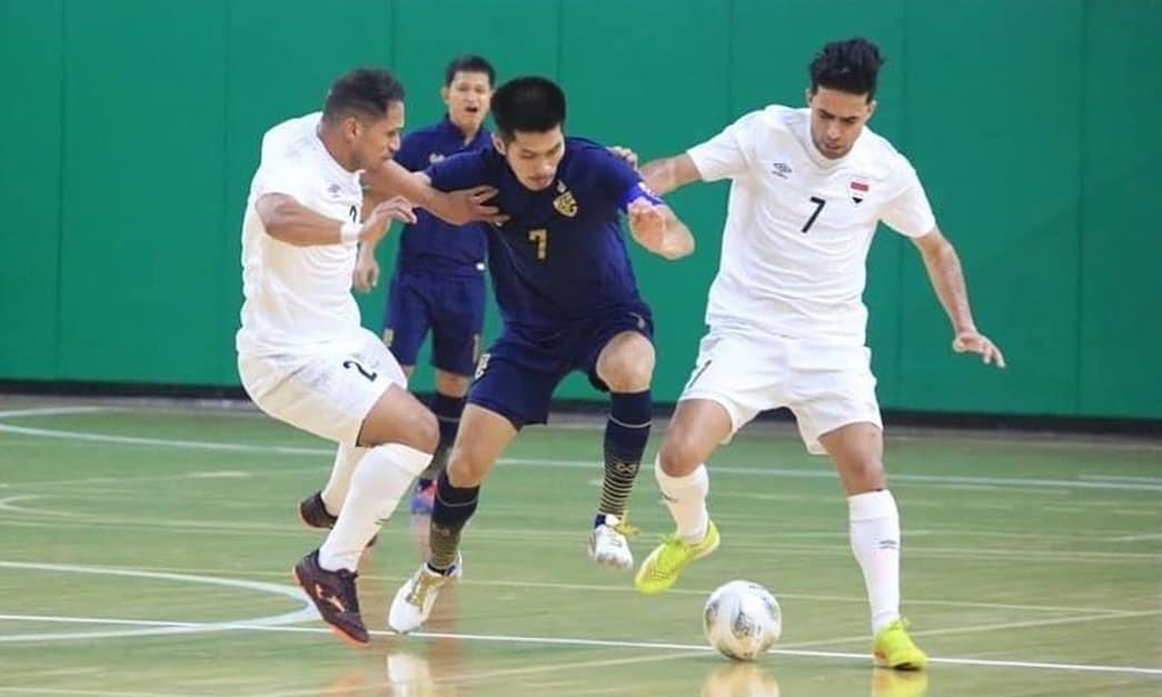 Thailand menempatkan satu kaki di Piala Dunia futsal