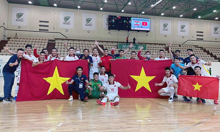 Vietnam memenangkan tempat terakhir untuk menghadiri Piala Dunia futsal