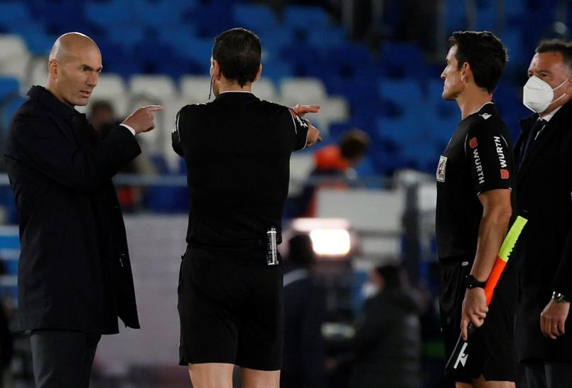Zidane: 'Saya sangat marah'