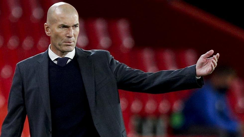 Zidane meninggalkan Real pada akhir musim ini