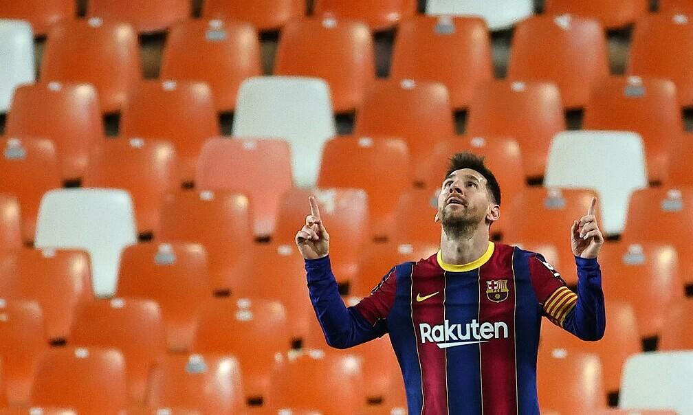 Hari ini Messi menjadi agen bebas