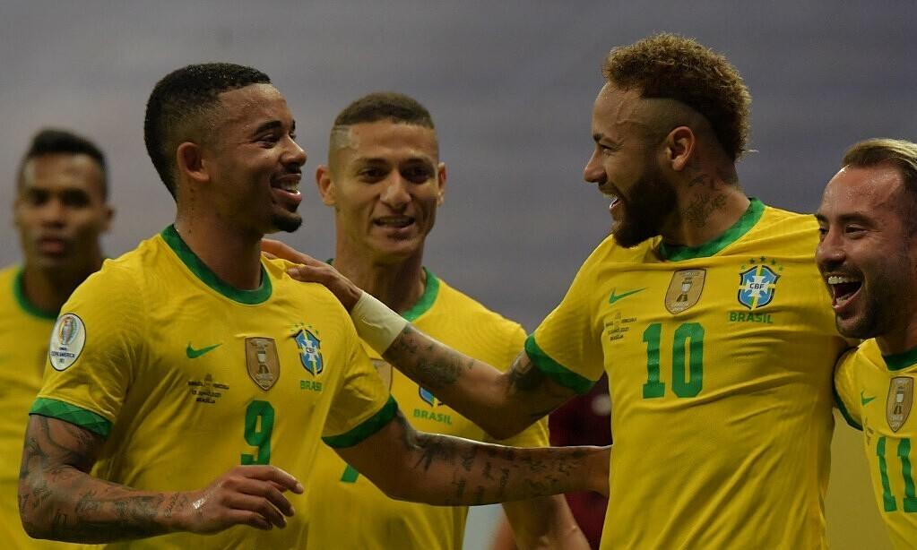 Neymar bersinar pada hari pembukaan Copa America 2021