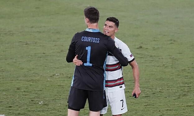 Ronaldo: 'Belgia memenangkan keberuntungan'