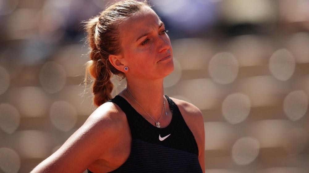 Kvitova mundur dari Roland Garros karena cedera saat konferensi pers