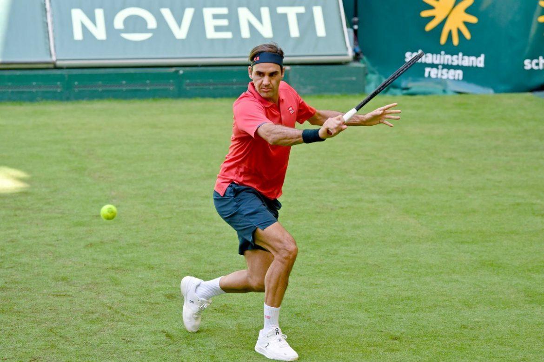 Federer memenangkan pertandingan pembukaan Halle Open