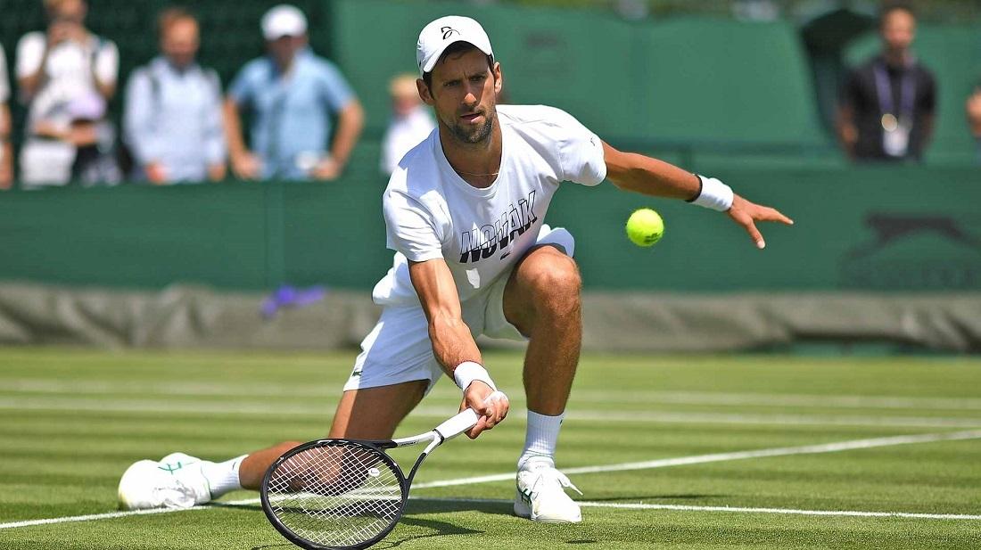 Djokovic berlatih di kampung halamannya di Nadal sebelum Wimbledon
