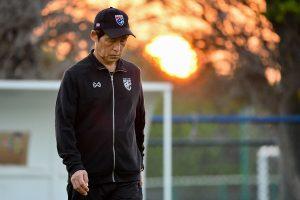 Pelatih Nishino meminta maaf atas kekalahan Thailand