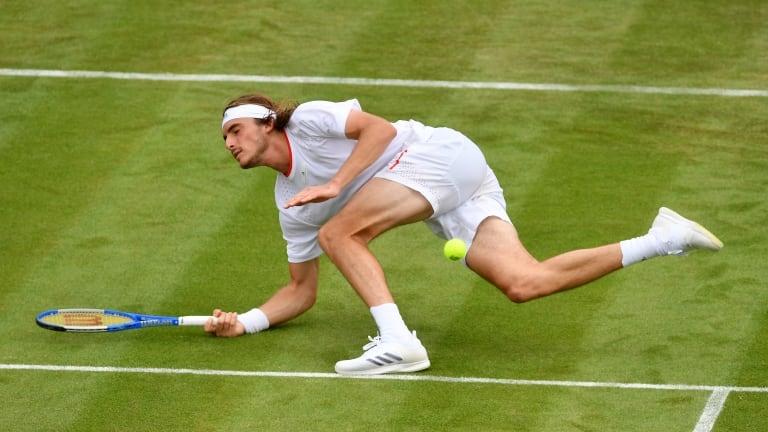 Tsitsipas tersingkir di babak pertama Wimbledon