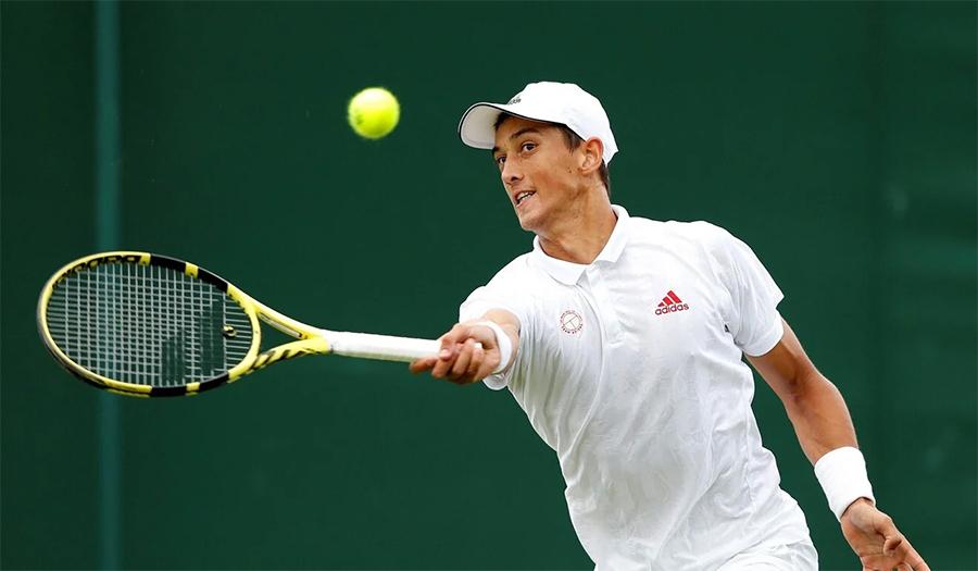 Petenis kelahiran Vietnam kalahkan lawan China di Wimbledon