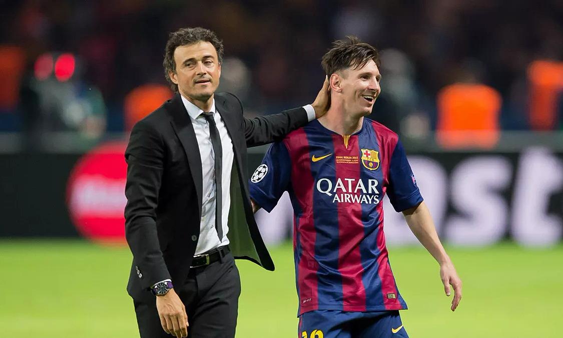 Enrique: 'Messi jenius seperti Beethoven'