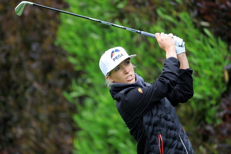 Koepka membantu pegolf Inggris ke puncak tabel US Women's Open