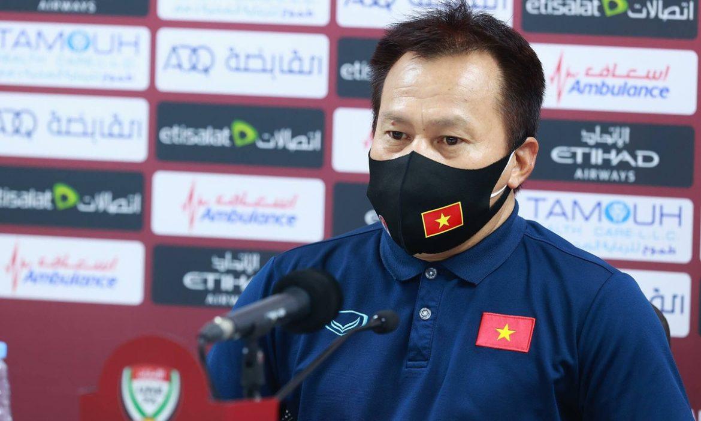Asisten Lu Dinh Tuan: 'Vietnam berhak bangga setelah pertandingan UEA'