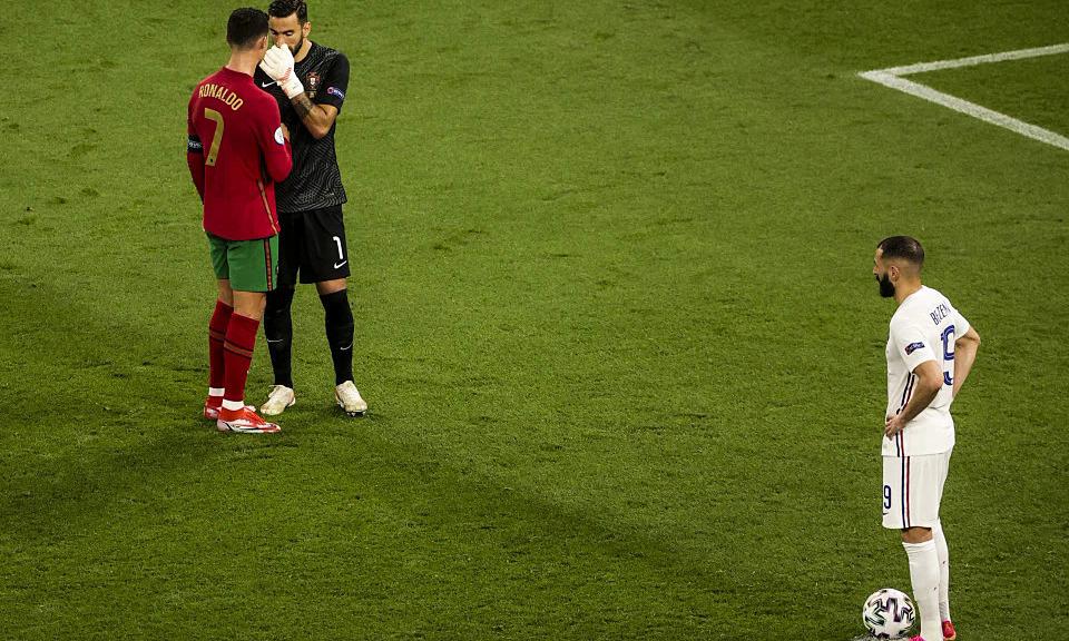 Penjaga gawang Portugal dimarahi karena tidak mendengarkan nasihat Ronaldo