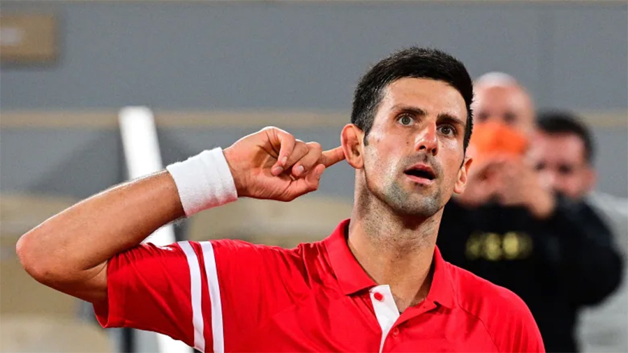 Djokovic – penguasa permainan psikologis
