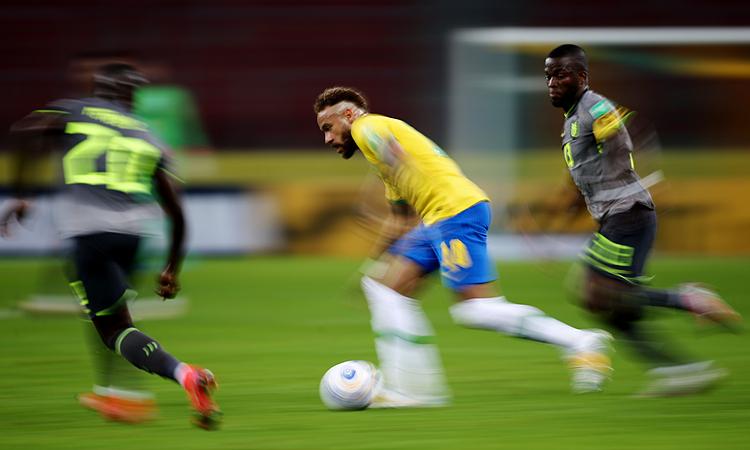 Brazil 1-0 Ekuador (babak kedua): Richarlison membuka skor