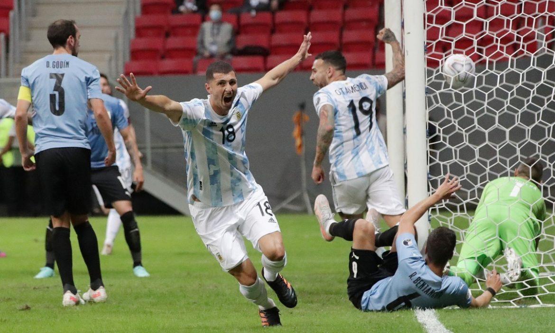 Argentina 1-0 Uruguay (babak kedua): Correa masuk