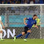 Italia memasuki babak 1/8 pertandingan lebih awal