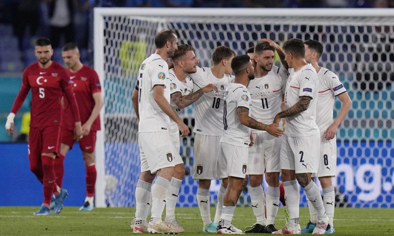 Italia menang 3-0 di hari pembukaan Euro 2021