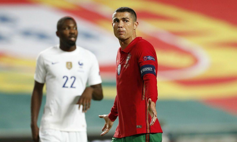 Ronaldo belum pernah mencetak gol melawan Prancis