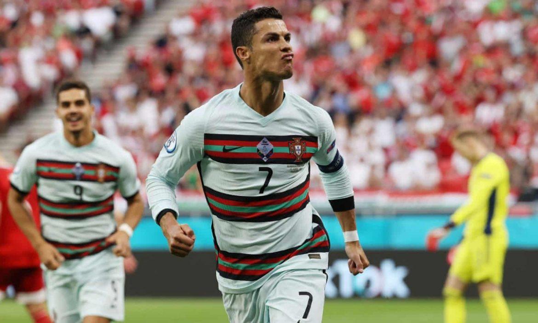 Ronaldo mencetak rekor gol di Euro