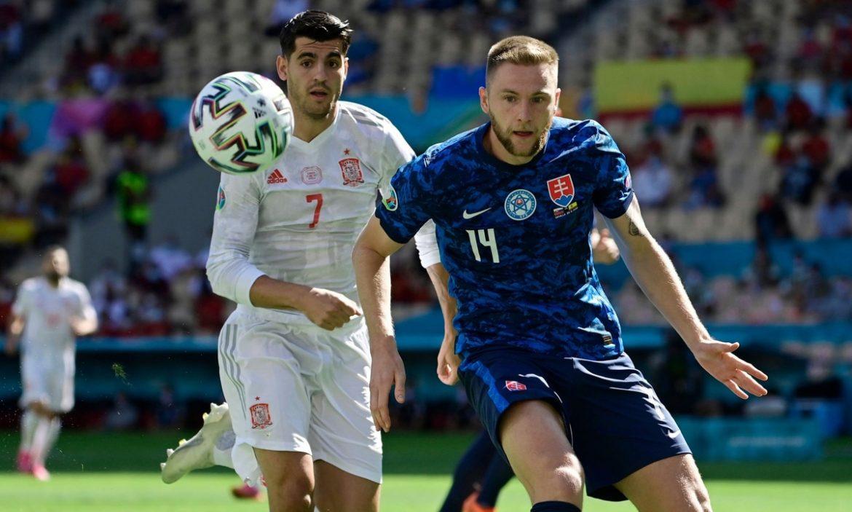 Slovakia 0-0 Spanyol (babak pertama)