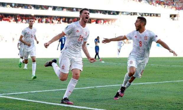 Spanyol mengalahkan Slovakia 5-0