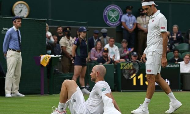 Federer lolos di babak pertama Wimbledon