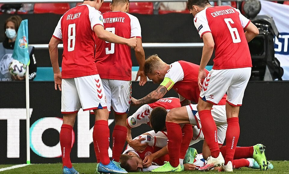 Eriksen pingsan di tengah pertandingan Denmark – Finlandia