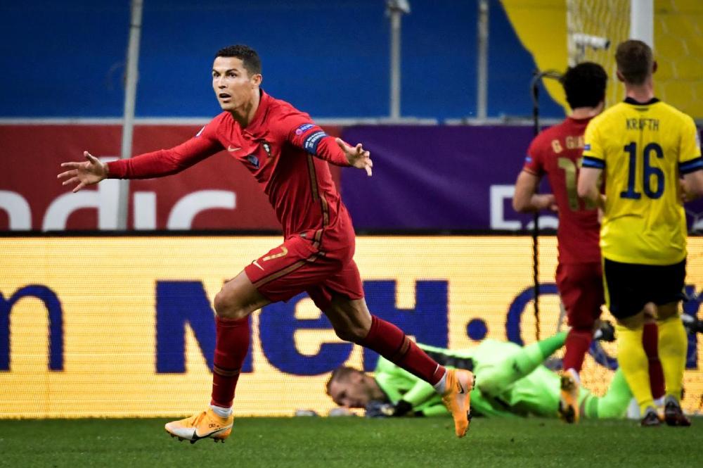 10 Rekor Menunggu Ronaldo di Euro 2020
