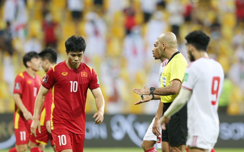 Cong Phuong kesal karena dia tidak menerima penalti
