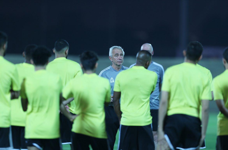 UEA tidak berlatih di stadion utama sebelum pertandingan Vietnam