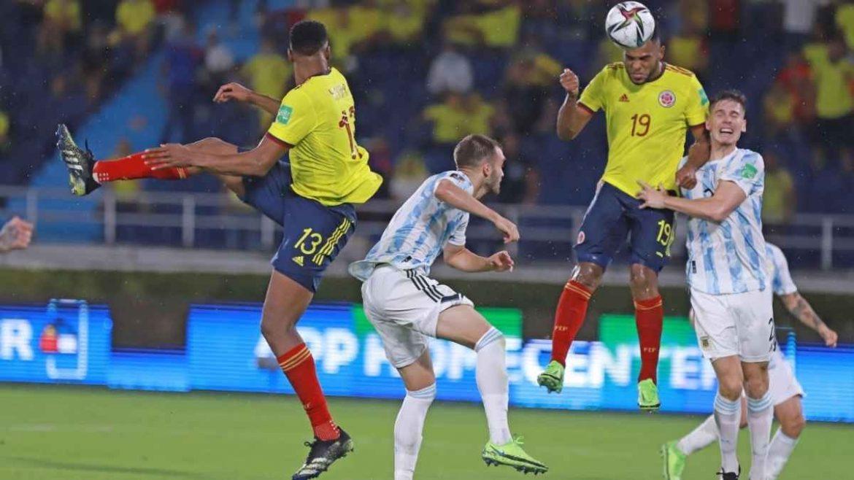 Argentina kehilangan poin pada menit ke-94