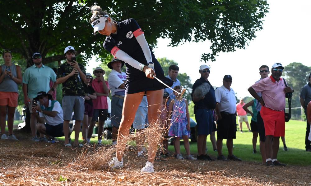 Betapa tangguhnya Nelly Korda di Kejuaraan PGA Wanita