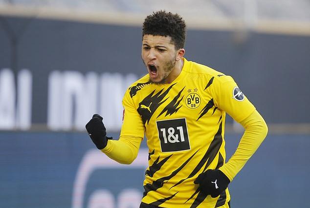 Dortmund menolak menjual Sancho seharga $95 juta ke Man Utd
