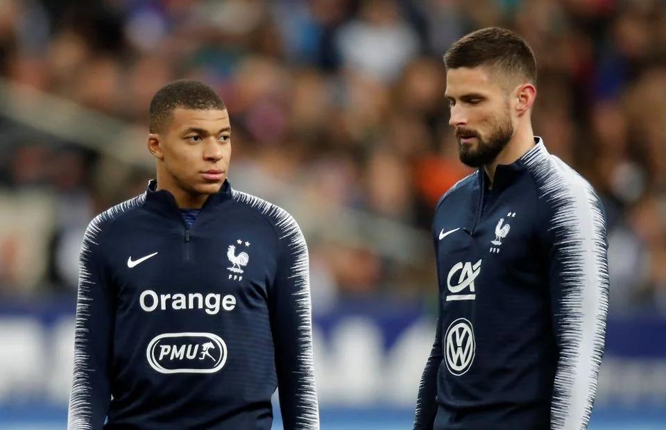 Mbappe: 'Saya dan Giroud tidak akan menjadi masalah besar'