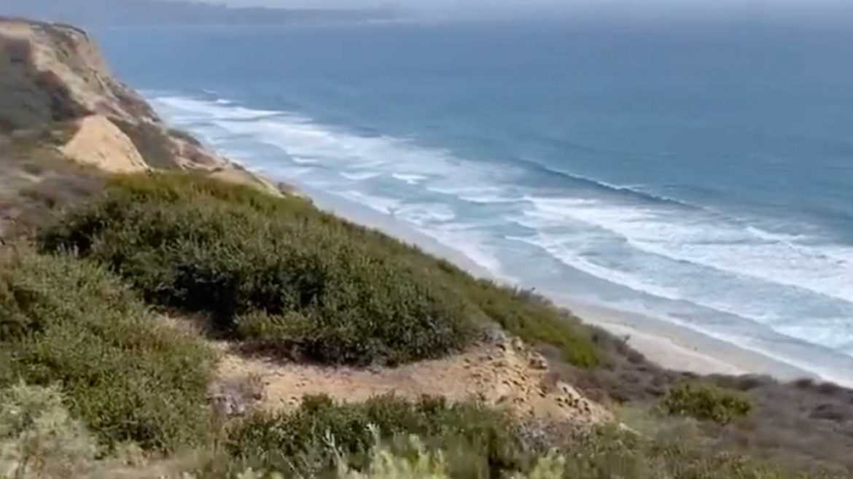 Pantai 'peri mandi' di bawah medan perang AS Terbuka 2021