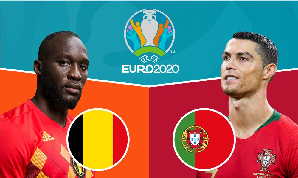 Korelasi sebelum pertandingan Belgia – Portugal o