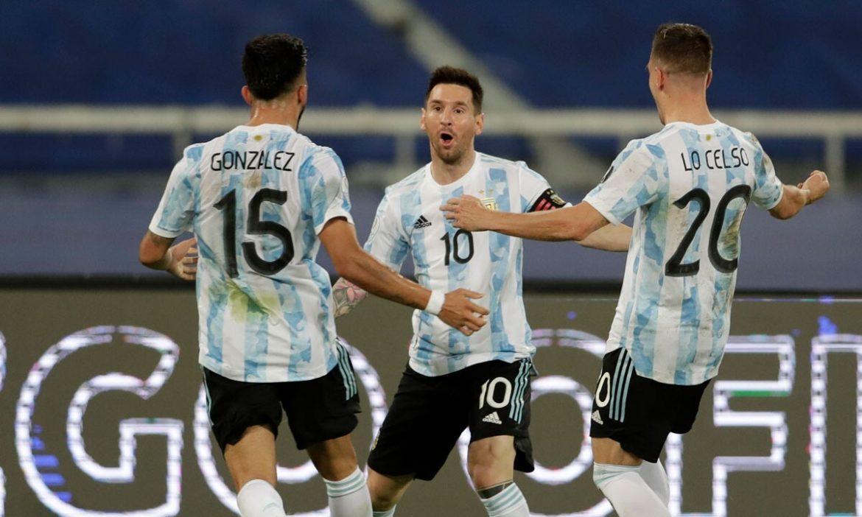 LiveArgentina 1-0 Paraguay (babak pertama): Gomez membuka skor