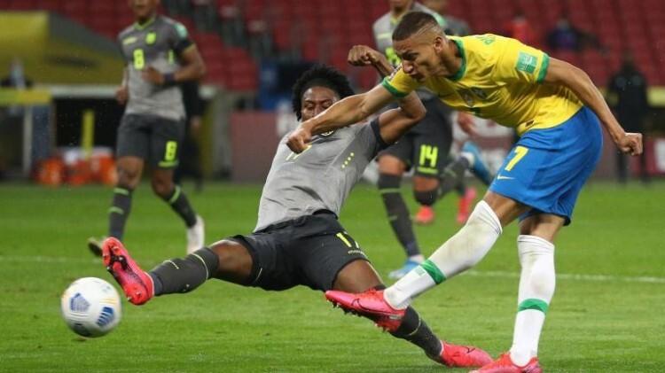 Brasil memenangkan pertandingan kelima berturut-turut di kualifikasi Piala Dunia