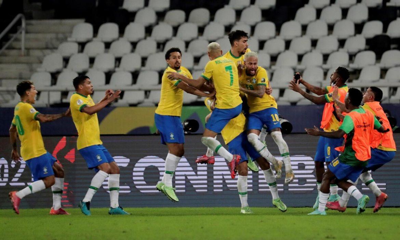 Brasil menang kembali berkat tabel kontroversial