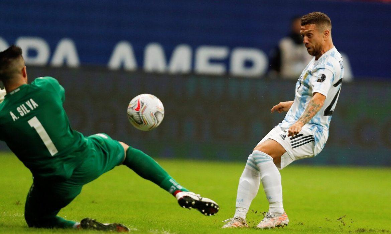 Argentina ke perempat final Copa America