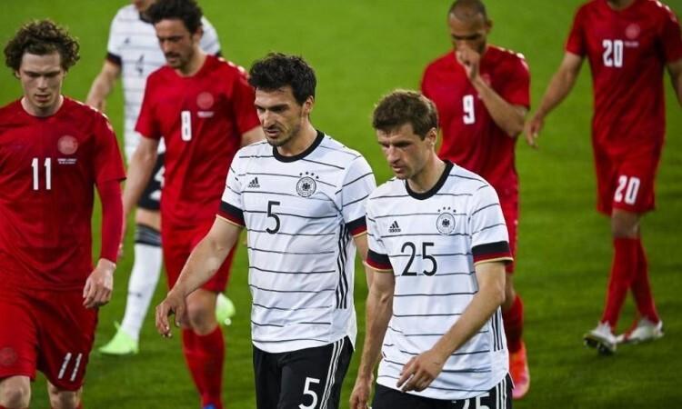 Jerman kehilangan kemenangan pada hari Muller, Hummels kembali